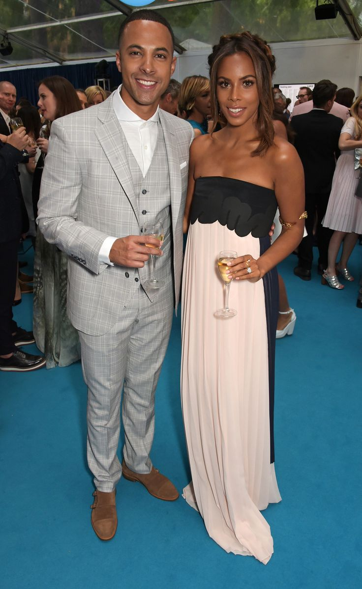 Marvin et Rochelle Humes aux Glamour Women of the Year Awards