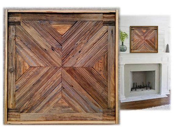 Reclaimed Barn Wood Wall Art Sculpture Large Rustic Framed Weathered Textured Modern Transistional Industrial Farmhouse OOAK Quilt Designs