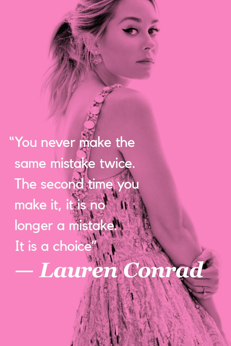 Most Memorable Quotes Lauren Conrad