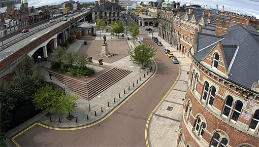 Middlesbrough's Exchange Square