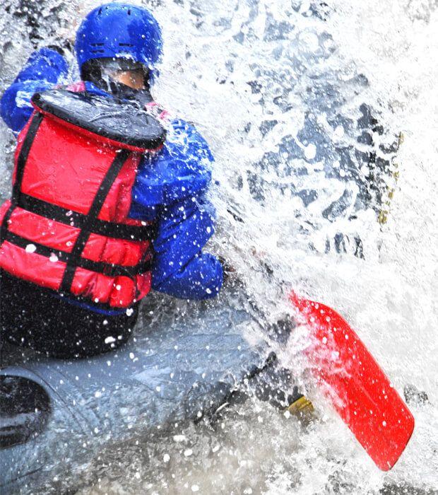 River Rafting auf dem Rhein