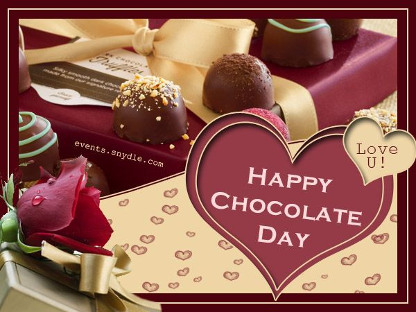 July 7 - NEW*} Happy Chocolate DAy SMS Wishes Quotes Images