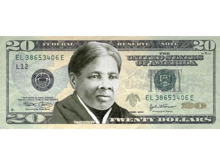 Harriet Tubman reemplazará a A.Jackson en billetes de $20. Tubman, nacida como Araminta Ross (1820-1913), fue una mujer que luchó por la libertad de otros afroamericanos esclavizados en EE.UU. Tras escapar, realizó trece misiones de rescate en las que liberó a cerca de setenta esclavos utilizando la red antiesclavista conocida como ferrocarril subterráneo. Después de la Guerra Civil, luchó por el sufragio de todas las mujeres.