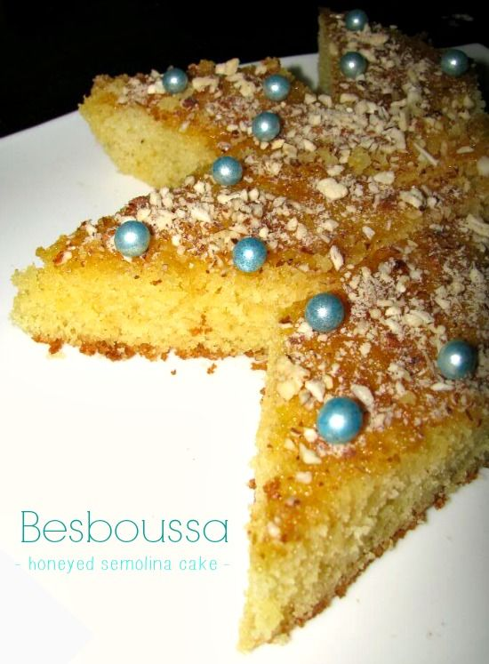 The Teal Tadjine | A Mélange of Cooking and Culture in the Algerian Mediterranean Basin and Beyond: Besboussa | Honeyed Almond Semolina Cake
