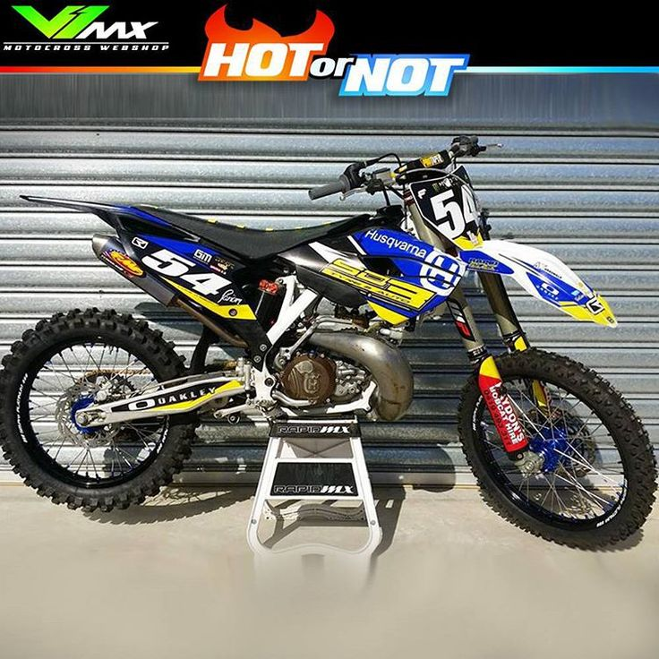 husqvarna te 125 sound and crack