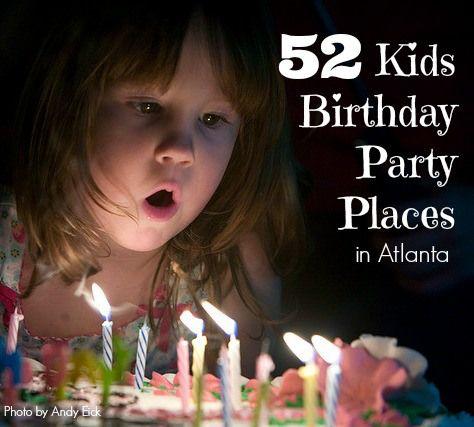 Unique Kids Party Places Ideas On Pinterest Birthday Places - Children's birthday party atlanta