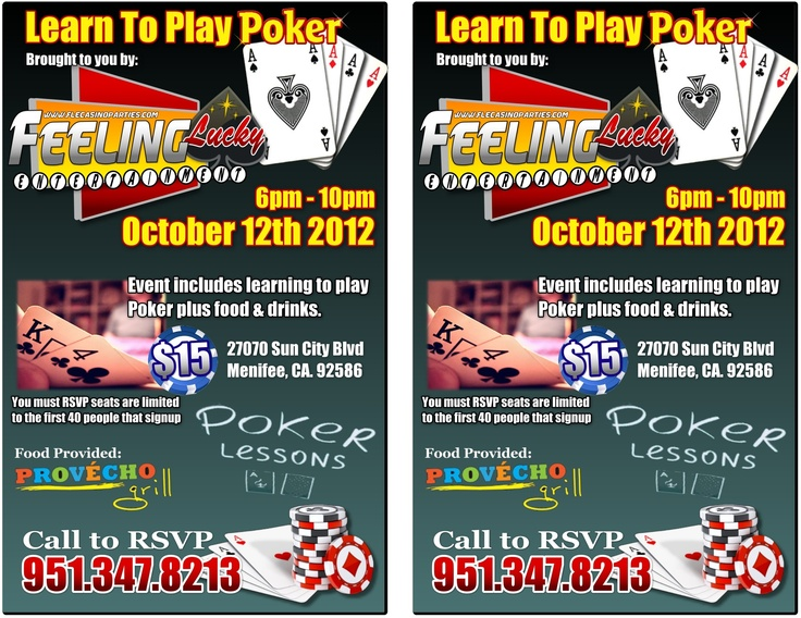 How To Play Poker - Learn Poker Rules: Texas ... - YouTube