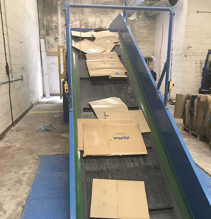 Polymer Industries Installs Conveyor & Baling Solution For Its New Recycling Arm