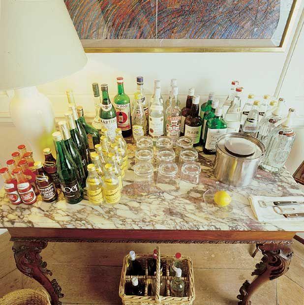 David Hicks Interiors Lessons In Bar Display