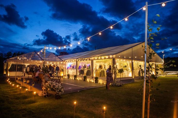 Wedding Marquee Lighting – How To Light Up Your Marquee!