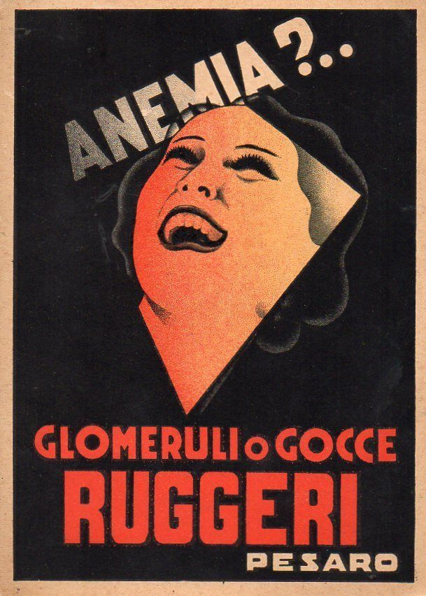 Pubblicitaria Advertising - Pesaro Farmaceutica Gocce Ruggeri - Mingozzi - PU183