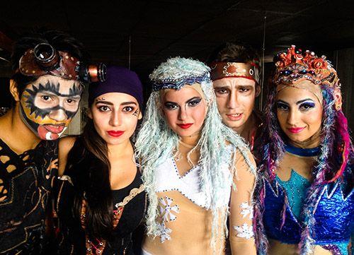 Circo Dragón celebra su noveno aniversario en el LARVA