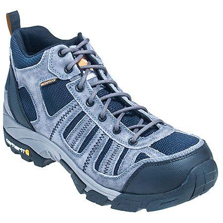 Carhartt Boots Men's Grey CMH4375 Composite Toe EH Slip Resistant Hiking Boots