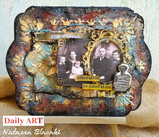 Art Recipes and More: DT project for Daily ART