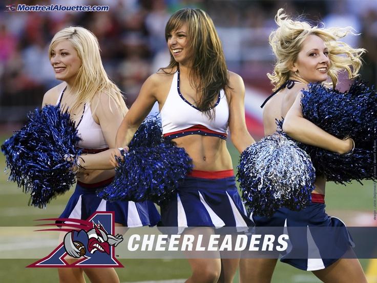 Montreal Alouettes Cheerleaders