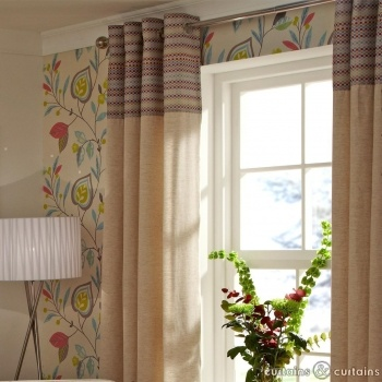 Keep it striped with these geometric curtains #cncfavouritethings