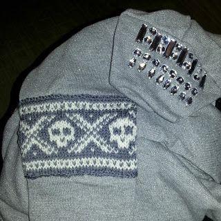 Olgamors finurligheter: Redesign av genser