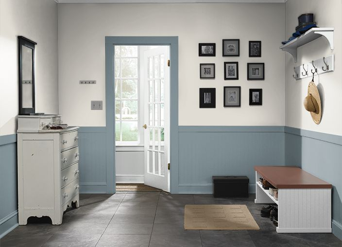This Is The Project I Created On Behr.com. I Used These Colours: