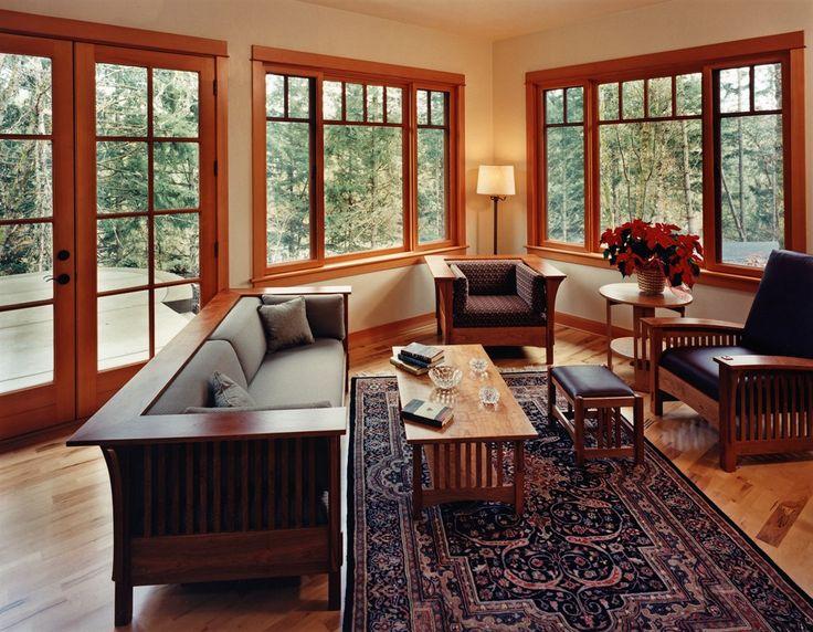 Best 25 craftsman home interiors ideas on pinterest for Craftsman interior design elements