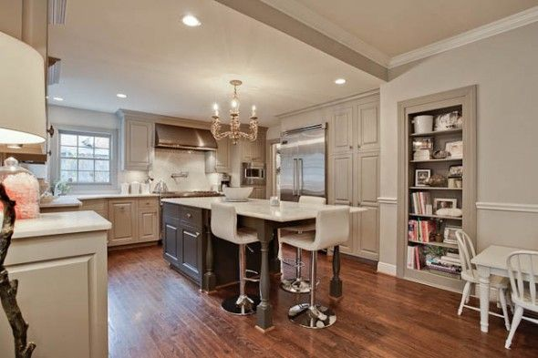 cabinets are Benjamin Moore ?Rockport Gray?Colors Combos, Cabinets