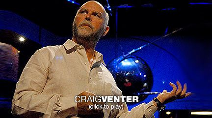 """Craig Venter: On the verge of creating synthetic life  """"Can we create new life out of our digital universe?"""" Craig Venter asks. His answer is """"yes"""" -- and pretty soon. He walks through his latest research and promises that we'll soon be able to build and boot up a synthetic chromosome."""