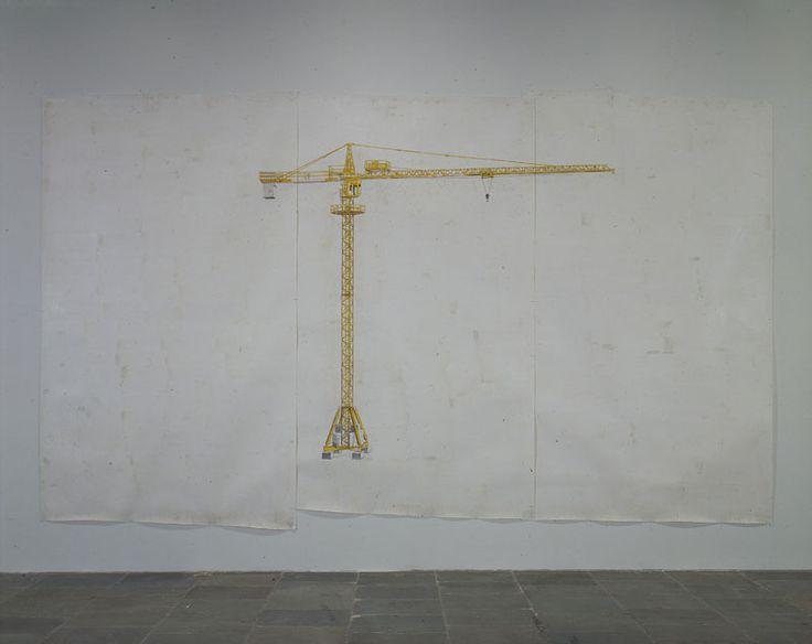 Toba Khedoori (1964) es un artista australiano. Su obras más representativas incluyen técnicas de dibujos y pinturas realizadas en grandes hojas de papel de cera recubierto mezclados. Los temas son los objetos cotidianos y escenas aisladas y se colocan en los grandes, fondos vacíos, una técnica que confiere un sentido de monumentalidad y la quietud al tema. Los objetos sombreados aparecen como elementos escultóricos en papel rodeadas por un sentimiento de alienación.
