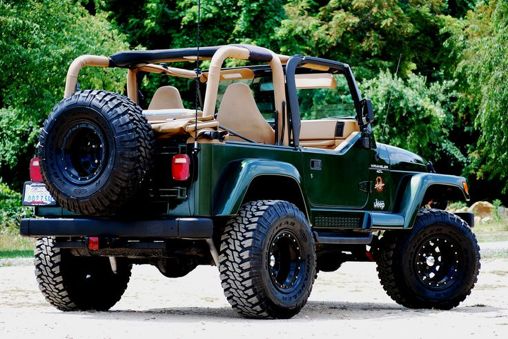 Jeep Wrangler TJ this is my baby beast, he has a few more accessories and defiantly dirtier