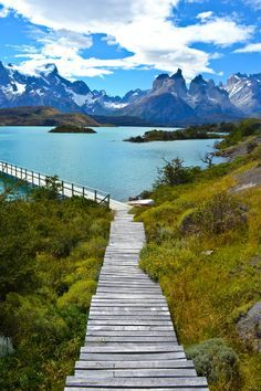 The beautiful Torres del Paine National Park - Patagonia Chile