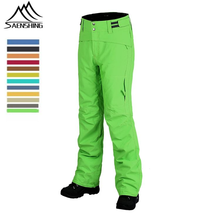 43.92$  Buy here - 2016 New Brand Men Women Skiing Pants Winter Snow Thermal Warmth Trousers Outdoor Hiking Snowboarding Pants Waterproof Windproof  #SHOPPING