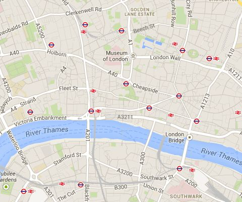 Buildings that Survived the Great Fire of London, 1666