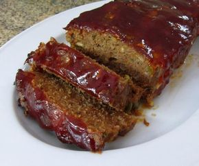 Homemade Southern Style Meatloaf with a Ketchup or Barbecue Sauce Topping: Southern Style Meatloaf
