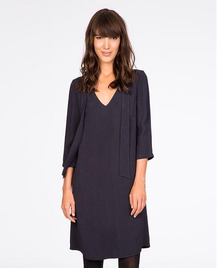 Robe jacquard. | Robes | Comptoir des Cotonniers