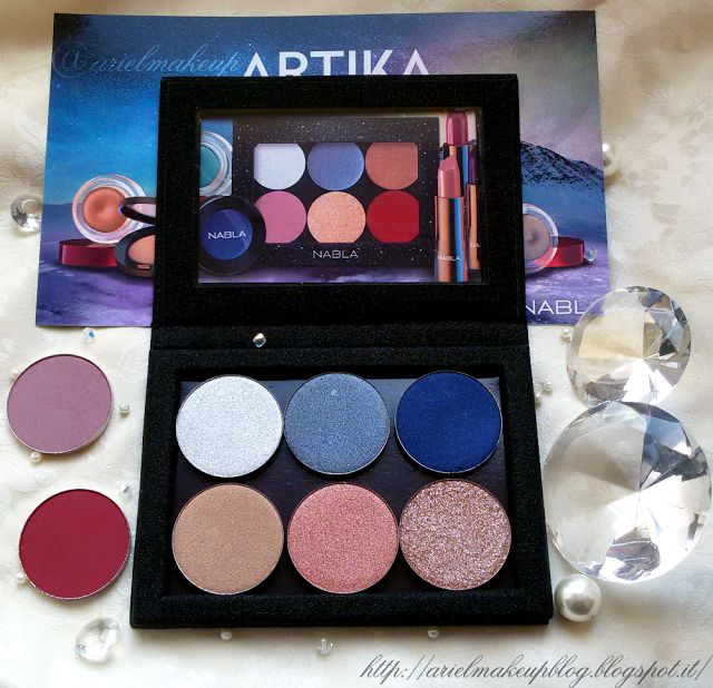 Ariel Make Up ~ Make Up & Beauty with a Princess Touch: ♕ Haul ♕ Nabla Cosmetics Artika Collection ♕ {Overview, Swatches, Comparisons}