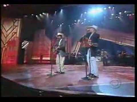 George Strait & Allan Jackson-Murder on Music Row. Now we get George AND Alan-whew! My heart's on overload