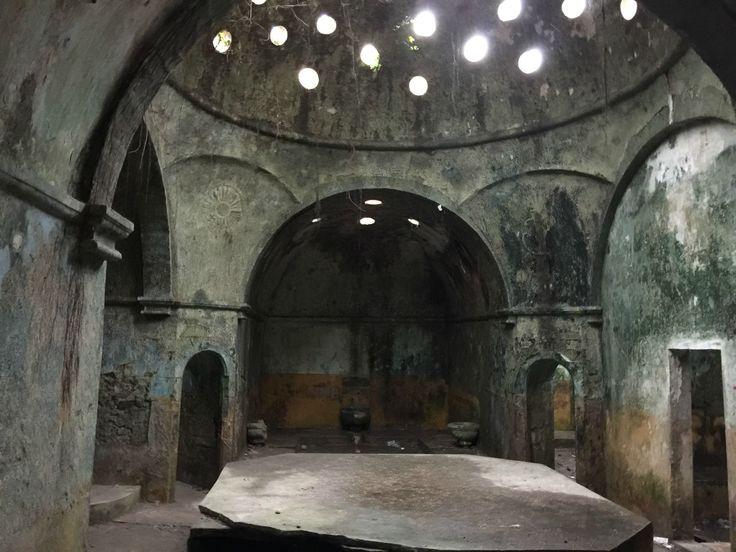Abandoned Turkish bath in Unye, Turkey