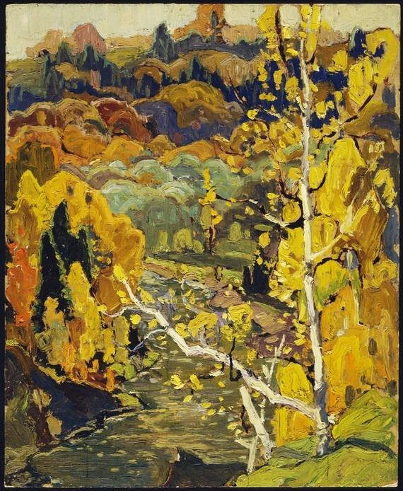 Lansing, 1921 - Franklin Carmichael