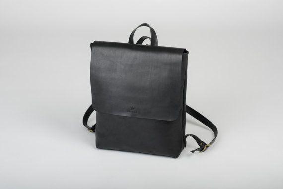 Natürliches Lederrucksack Leder-Rucksack von NewSirena auf Etsy
