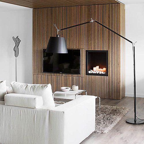 tolomeo mega black floor lamp black floors and floor lamps. Black Bedroom Furniture Sets. Home Design Ideas
