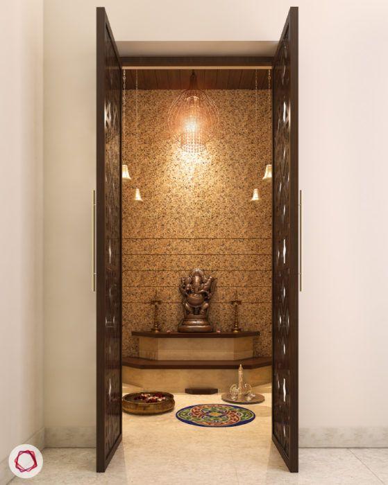 High Quality 8 Mandir Designs For Contemporary Indian Homes