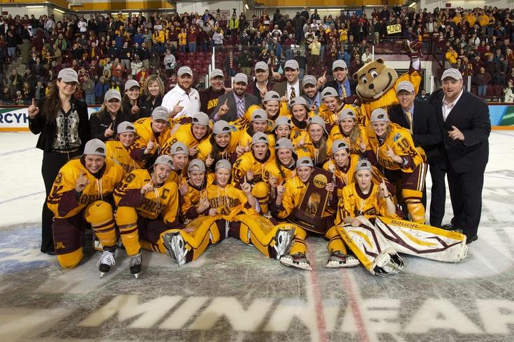 Congratulations to the University of Minnesota women's