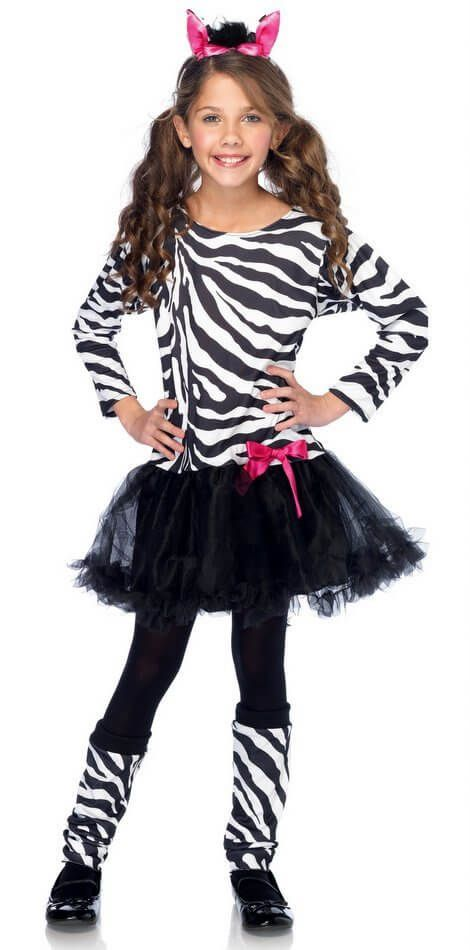 Girls' Little Zebra Costume - Candy Apple Costumes