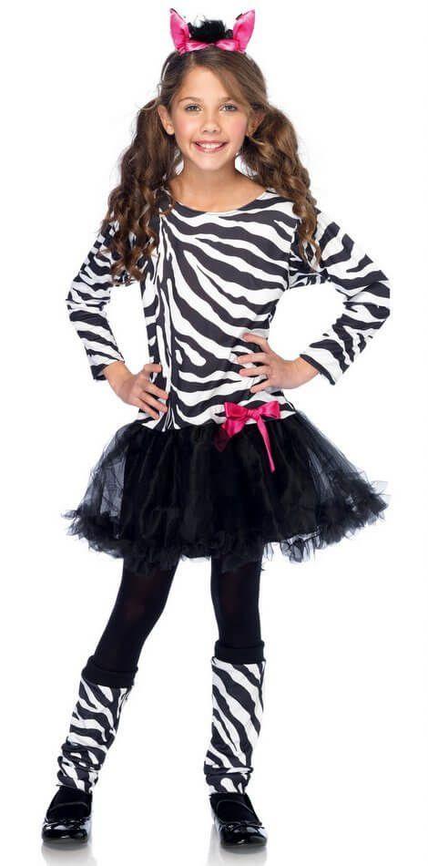 Girls' Little Zebra Costume - Candy Apple Costumes