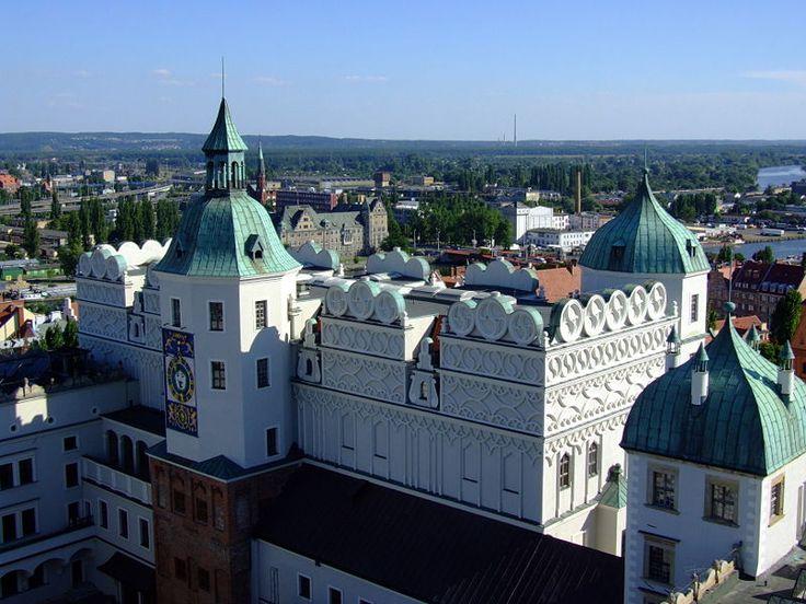 The Pomeranian Dukes' Castle in Szczecin,Northern Poland