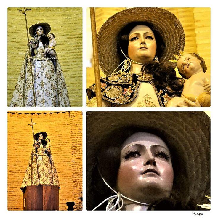 La Peregrina , en el Santuario de la Vir9en Peregrina . (Sahagún) Camino de Santiago