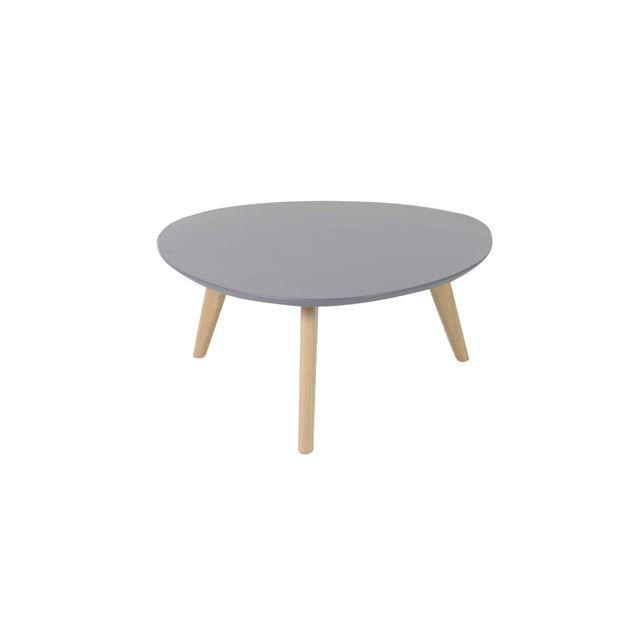 Table Basse Ronde Plateau Coloris Gris Baltic Table Basse Table Basse Ronde Table Basse Design Italien