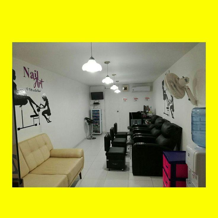 #spa de uñas info wassp 3002280401 medellin colombia. # muebles de peluqueria el mago # muebles jhon gonzalez
