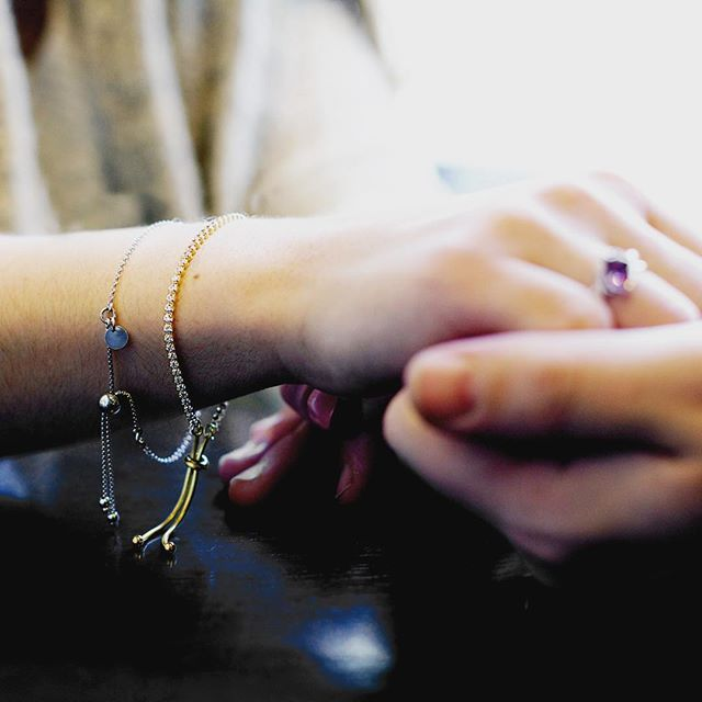 """A good companion shortens the longest road."" -Turkish Proverb  #celebrateyourstory #parisjewellers #jewelry #friendship #love #bracelet #layering #couplegoals #ring #love #valentines #giftideas #romantic"