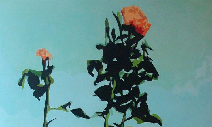 'Solomon's Splendour' by Rebecca Phillips, Wellington. Acrylic on board.