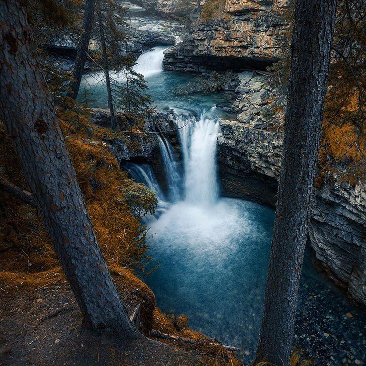 Johnston Canyon (Banff, Alberta) by RÉJEAN BRANDT (@rejbrandt) on Instagram