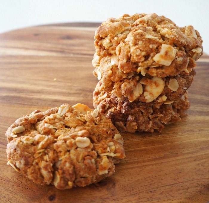 Just because Anzac Day isn't until April doesn't mean you have to miss out on making these yummy Thermomix Anzac Biscuits with Almonds now!